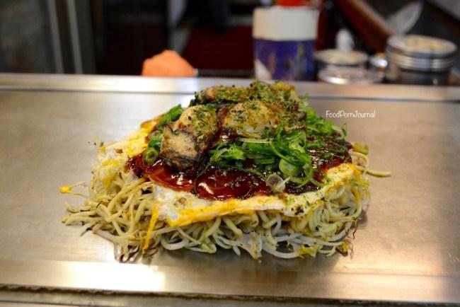 Japan Hiroshima Okonomimura okonomiyaki