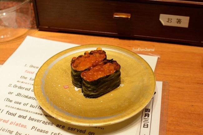 Japan Kanazawa sushi train