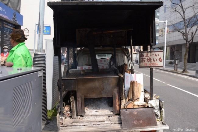 Japan Matsumoto yaki imo truck