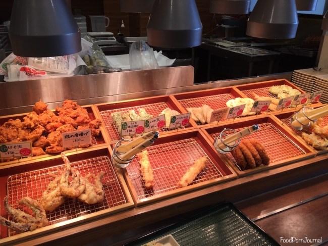 Japan Nagano Sanuki Udon side dishes