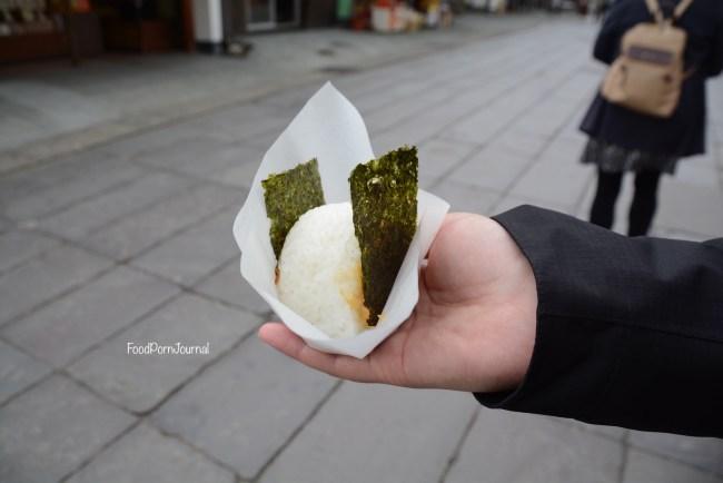 Japan Nagano onigiri