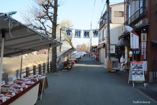 Japan Takayama Miyagawa Morning Market
