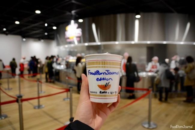 Osaka Japan Momofuku Cup Noodle Museum product