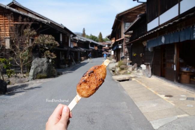 Tsumago gohei mochi
