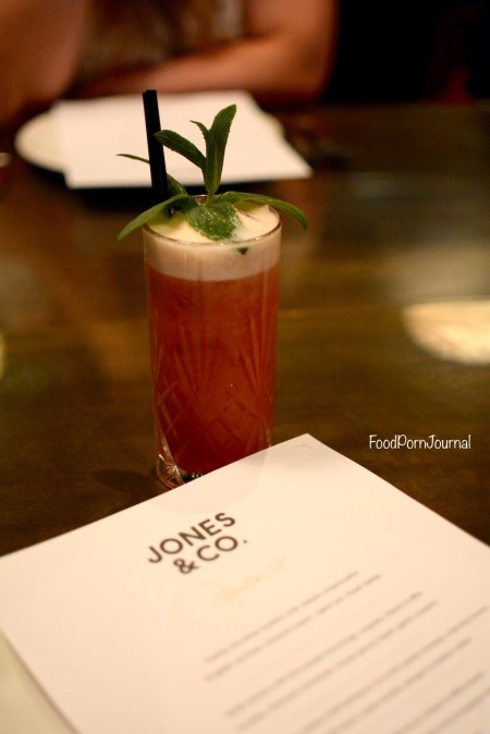 Jones & Co Kingston mocktail
