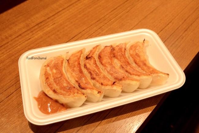 Osaka Japan Dotonburi gyoza tasting