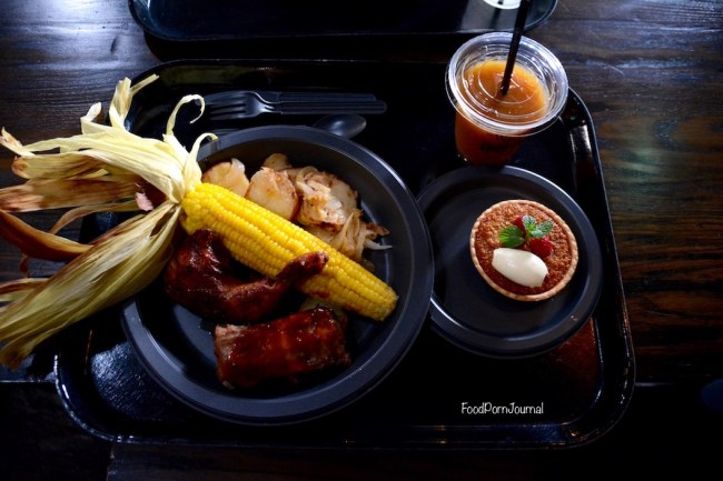 Osaka Japan Universal Studios Harry Potter Three Broomsticks lunch