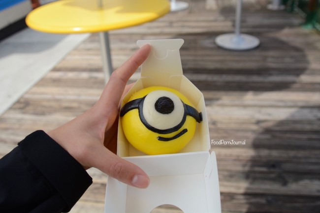 Osaka Japan Universal Stuidos minion steam bun