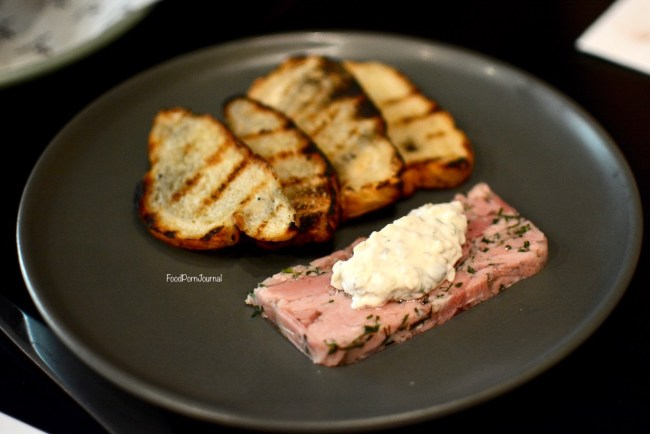 Eightysix Braddon pork terrine