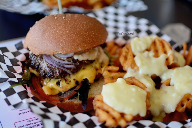 Burger Hero Braddon beef burger
