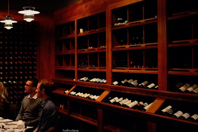 Courgette wine cellar
