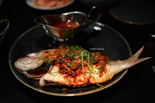 Spice Temple snapper