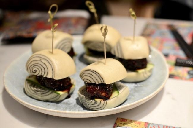 Natural Nine pork belly mantou