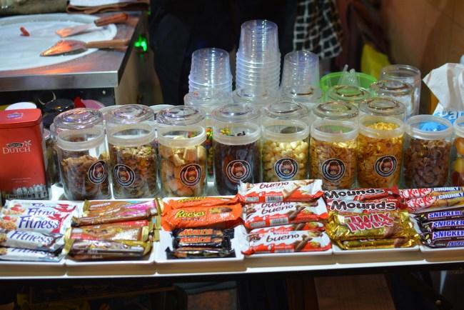 Chiang Mai telek ice cream toppings