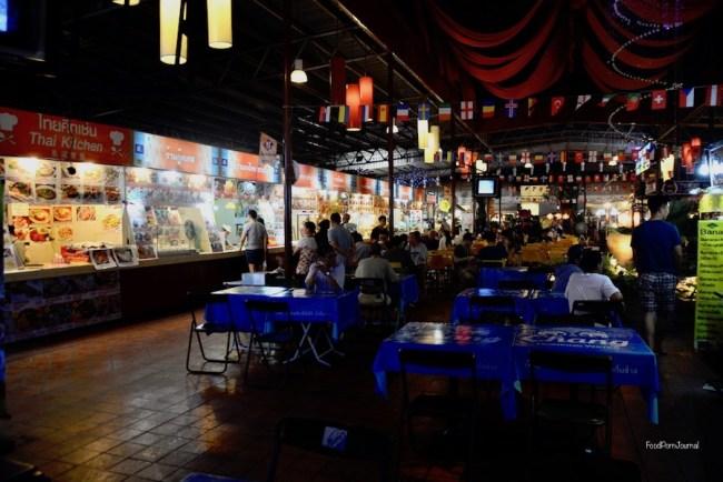Chiang Mai Night Bazaar food court
