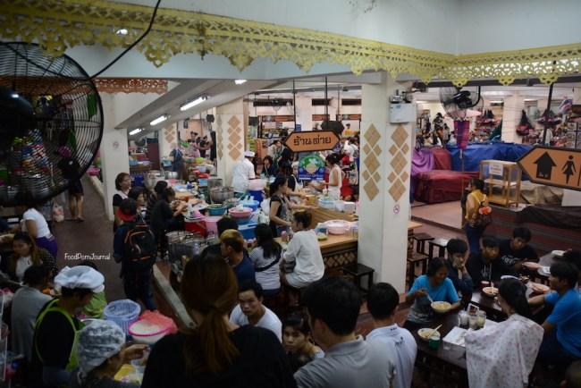 Chiang Mai Warorot basement food court