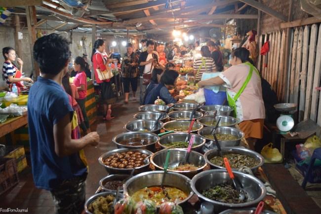 Luang Prabang Night Markets food markets