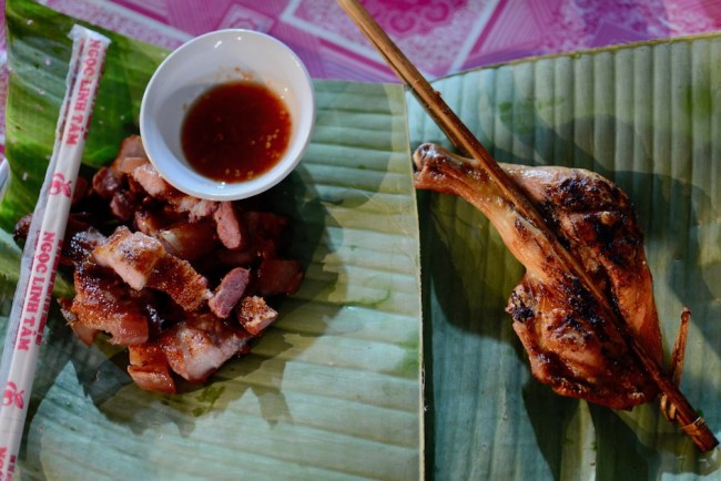 Luang Prabang Night Markets food