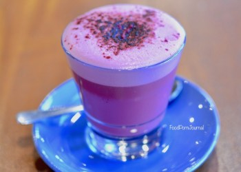 Kith and Nosh beetroot latte