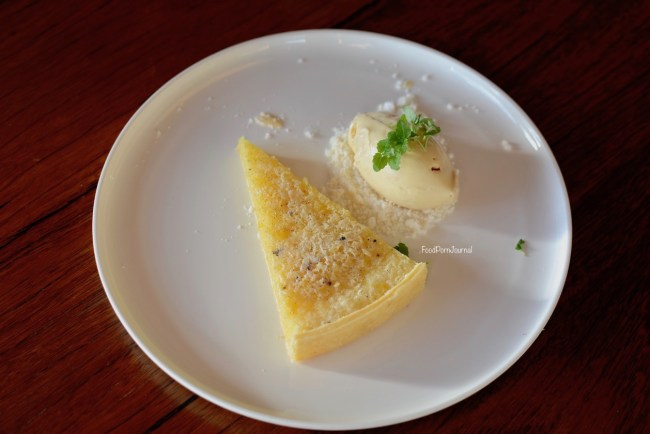 Pialligo Estate Farmhouse lemon tart