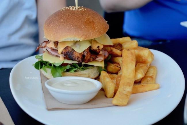 Stanley's Bruce chicken burger