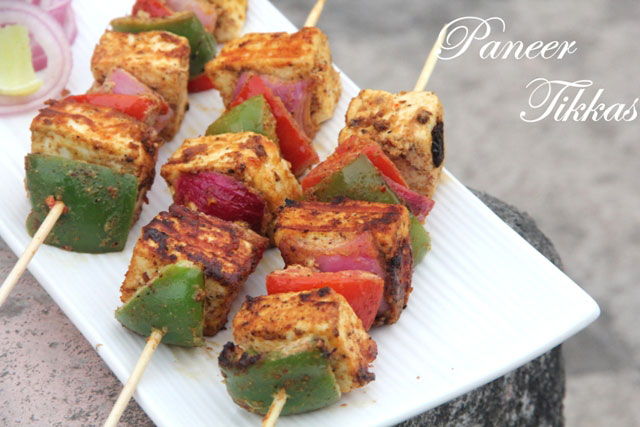 Paneer Tikka Recipe   FoodPunch Paneer Tikka Recipe