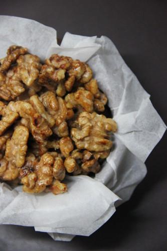 gekarameliseerde walnoten