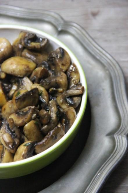 gemarineerde champignons