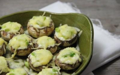champignons met boursin
