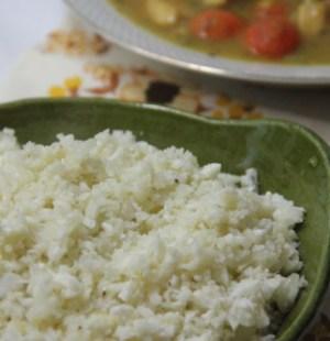 Bloemkool rijst