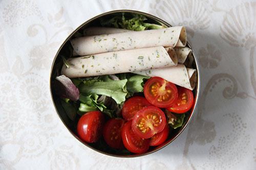 salade met kipfilet