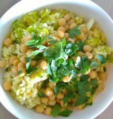 prei curry bloemkoolrijst