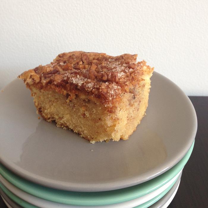cake met walnoten en kaneel glutenvrij