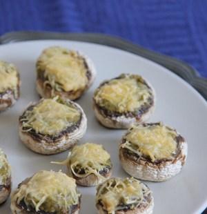 champignons pesto kaas