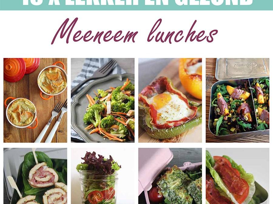 lekker en gezond meeneem lunches