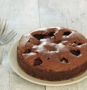 chocoladetaart koekjesbodem glutenvrij
