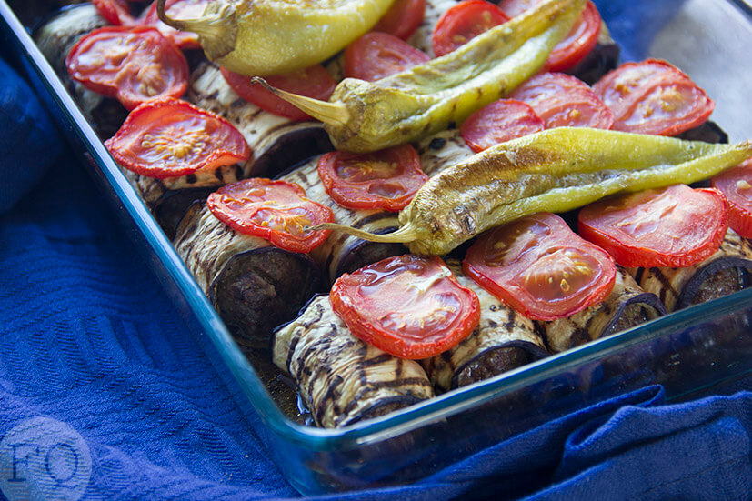 Turkse ovenschotel met aubergine en köfte