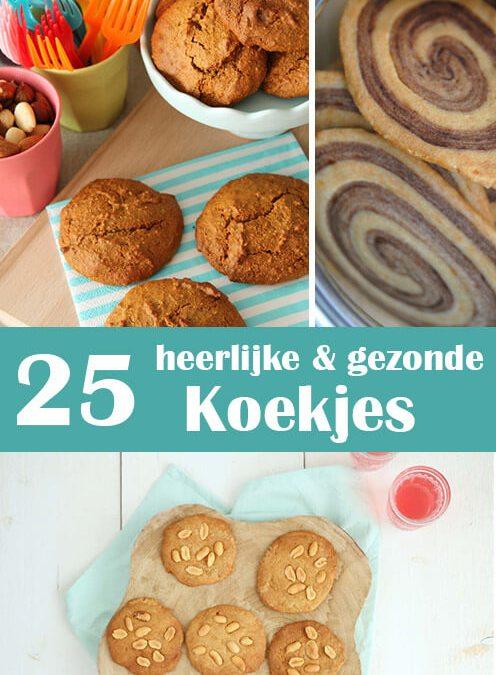 25 heerlijke en gezonde koekjes om dit weekend te bakken