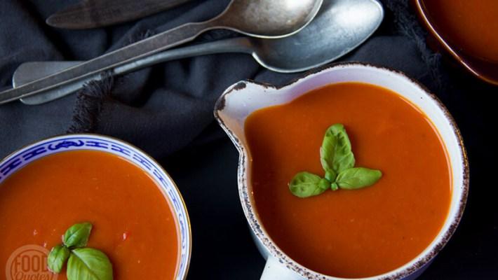 pompoen-tomatensoep