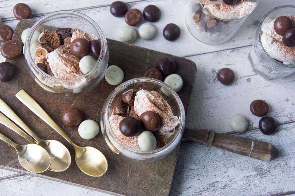 Chocolade kruidnoten tiramisu