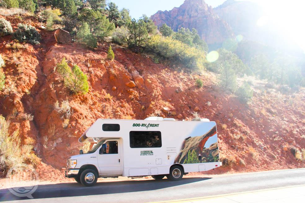 Met de Camper door Californië – van Zion naar Monument valley naar Los Angeles