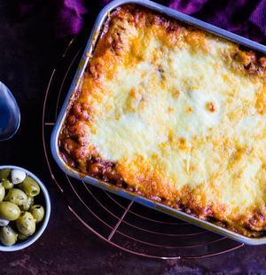 Lasagne met groentelaagjes