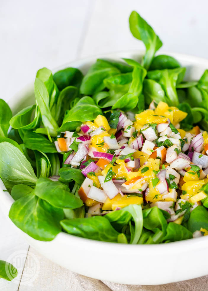 salade met mango