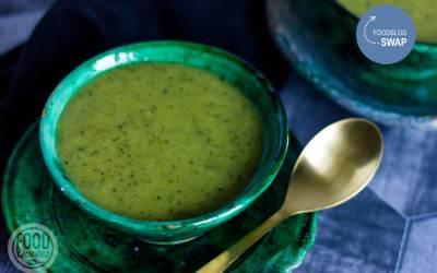 Courgette-prei soep