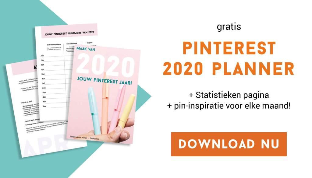 pinterest 2020 planner