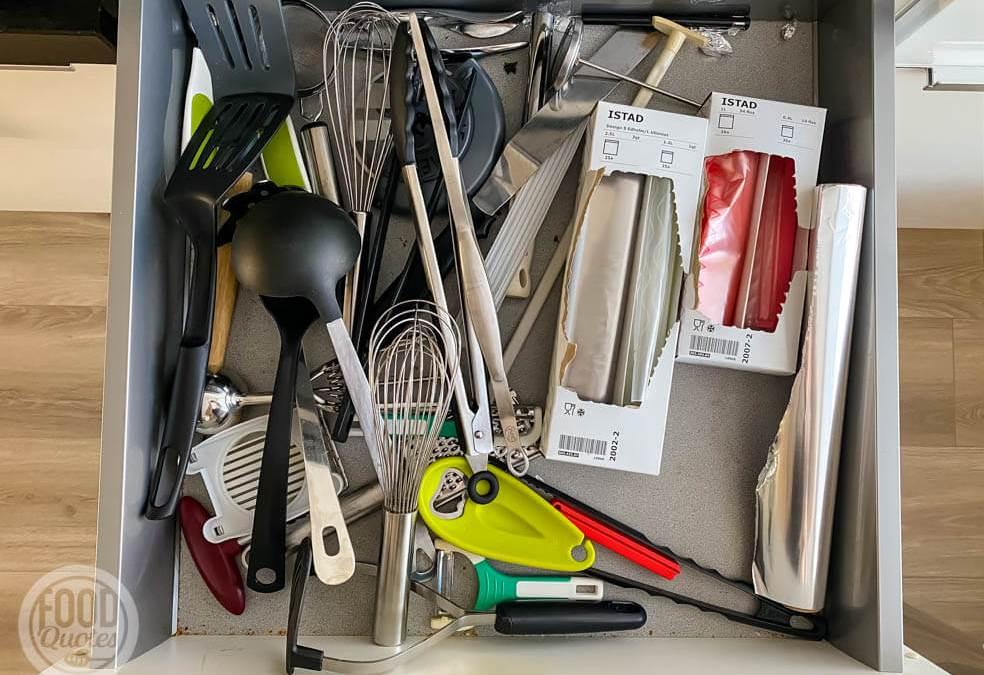 Keukenlades opruimen en organiseren met So Clever