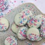 Gender reveal oreo koekjes