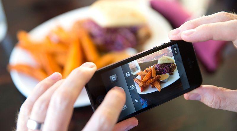 food hashtags on Instagram
