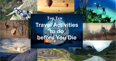 travel activities to do before you die