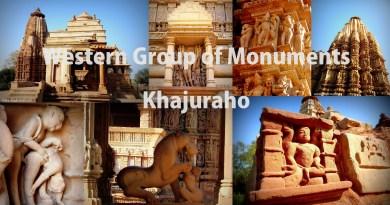 Western Group of Temples Khajuraho